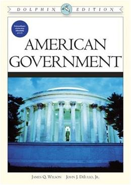 American Government, Dolphin Edition 1 9780618576821