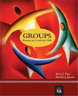 Groups: Planning and Leadership Skills, by Page 9780618639434