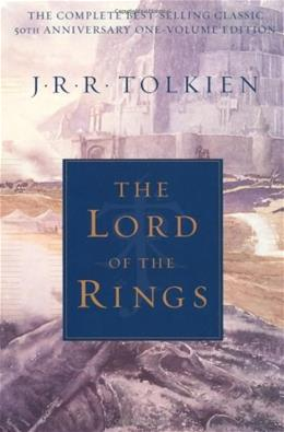 Lord of the Rings: 50th Anniversary, by Tolkien, Volume 1 9780618640157