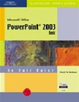 Course Guide: Microsoft Office PowerPoint 2003 Illustrated Basic, by Beskeen BK w/CD 9780619057961