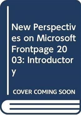 New Perspectives on Microsoft FrontPage 2003, by Evans, Introductory BK w/CD 9780619213770