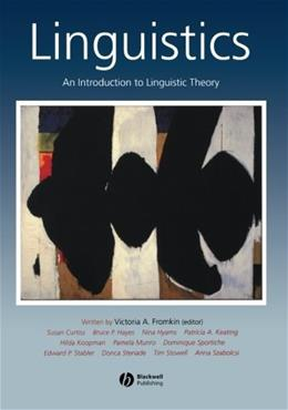 Linguistics: An Introduction to Linguistic Theory, by Fromkin 9780631197119