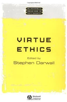 Virtue Ethics, by Darwall 9780631231141