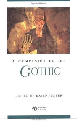 Companion to the Gothic, by Punter 9780631231998