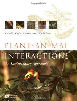 Plant Animal Interactions: An Evolutionary Approach, by Herrera 9780632052677