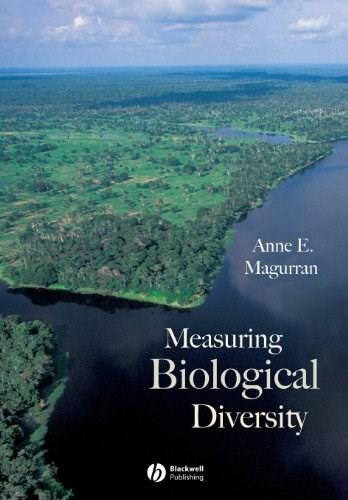 Measuring Biological Diversity, by Magurran 9780632056330
