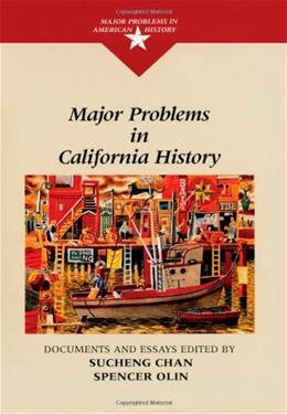 Major Problems in California History, by Chan 9780669275889