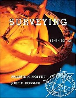 Surveying, by Moffitt, 10th Edition 9780673997524