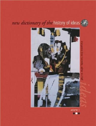 New Dictionary of the History of Ideas 9780684313771