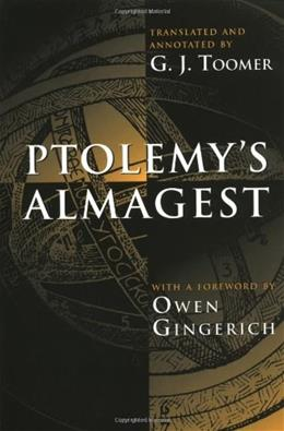 Ptolemys Almagest, by Toomer 9780691002606