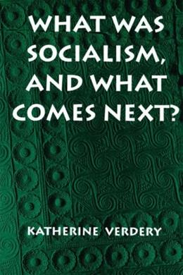 What Was Socialism, and What Comes Next?, by Verdery 9780691011325