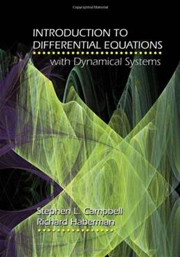 Introduction to Differential Equations with Dynamical Systems 1 9780691124742