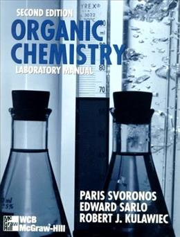 Organic Chemistry, by Svoronos, 2nd Edition, Laboratory Manual 9780697339232