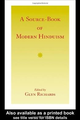 Source-Book of Modern Hinduism, by Richards 9780700703173