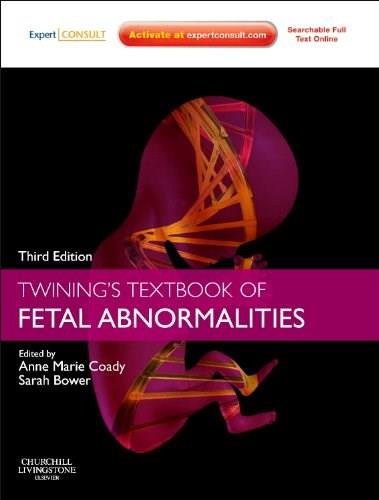 Twinings Textbook of Fetal Abnormalities: Expert Consult: Online and Print, by Twining, 3rd Edition 3 PKG 9780702045912