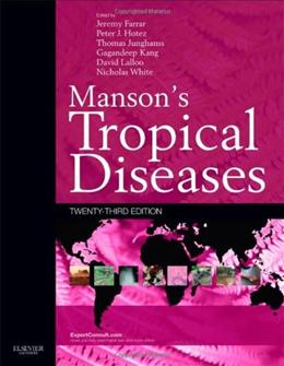 Mansons Tropical Diseases: Expert Consult - Online and Print, 23e 9780702051012