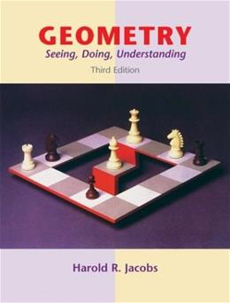 Geometry: Seeing, Doing, Understanding, 3rd Edition 9780716743613