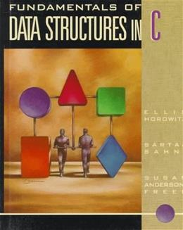 Fundamentals of Data Structures in C, by Horowitz 9780716782506