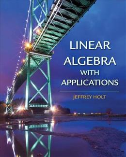 Linear Algebra with Applications 1 9780716786672