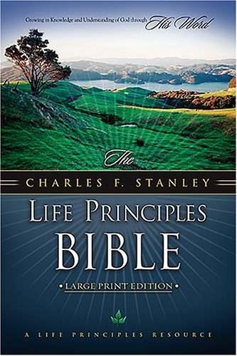 Life Principles Bible, by Stanley 9780718014636