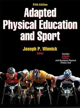 Adapted Physical Education and Sport - 5th Edition 5 w/DVD 9780736089180