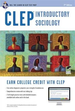 CLEP Introductory Sociology, by Egelman, 2nd Edition 2 PKG 9780738610917