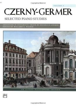 Selected Piano Studies, Vol. 1 (Alfred Masterwork Editions) 597 9780739015971