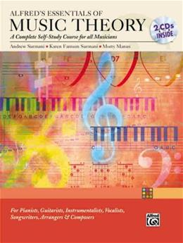 Essentials of Music Theory: A Complete Self Study Course for All Musicians, by Surmani BK w/CD 9780739036358