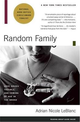 Random Family: Love, Drugs, Trouble, and Coming of Age in the Bronx, by LeBlanc 9780743254434