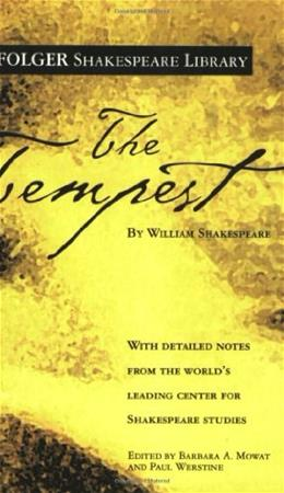 Tempest, by Shakespeare 9780743482837