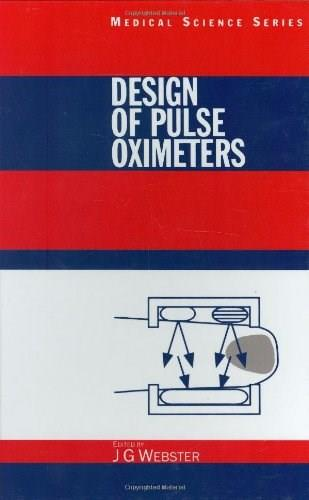 Design of Pulse Oximeters, by Webster 9780750304672