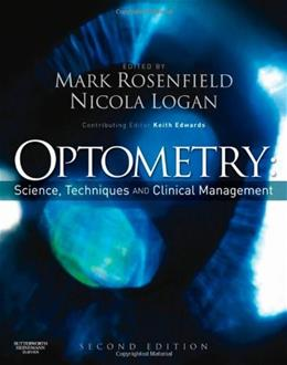 Optometry: Science, Techniques and Clinical Management, by Rosenfield, 2nd Edition 9780750687782