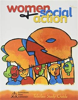 Women and Social Action, by Thompson, 3rd Edition, Telecourse Study Guide 9780757501500