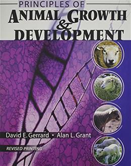 Principles of Animal Growth and Development, by Gerrard 2 9780757529863