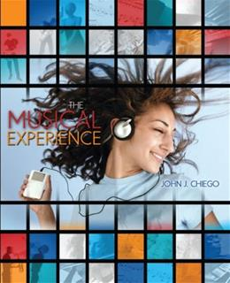 Musical Experience, by Chiego 9780757541346