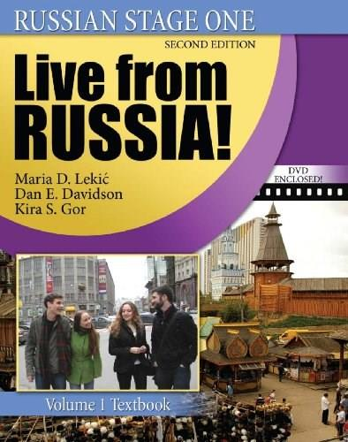 Russian Stage 1: Live From Russia, by Lekic, 2nd Edition, Volume 1, 2 Book Set 2 PKG 9780757552014