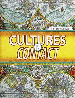 Cultures in Contact, by Davis 9780757552434