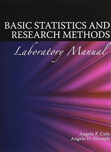 Basic Statistics and Research Methods, by Cole BK w/CD 9780757554445