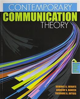 Contemporary Communication Theory 5 PKG 9780757559891