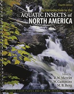 Introduction to the Aquatic Insects of North America, by Merritt, 4th Edition 9780757563218
