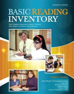 Basic Reading Inventory: Pre-Primer through Grade Twelve and Early Literacy Assessments 11 PKG 9780757598524