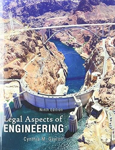 Legal Aspects of Engineering 9 9780757598845