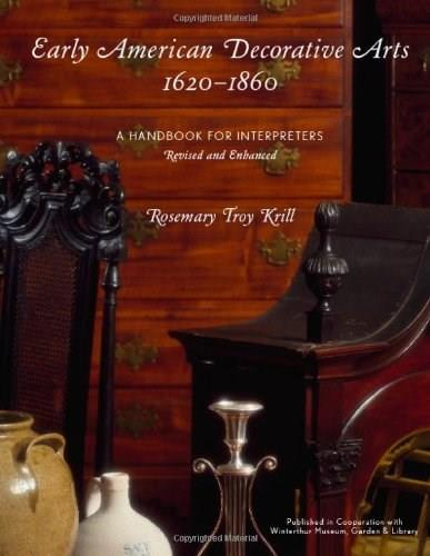 Early American Decorative Arts, 1620-1860, by Krill BK w/CD 9780759119444