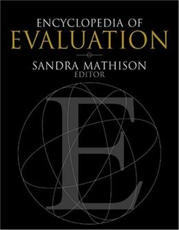 Encyclopedia of Evaluation, by Mathison 9780761926092