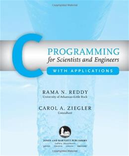 C Programming for Scientists and Engineers with Applications 1 9780763739522