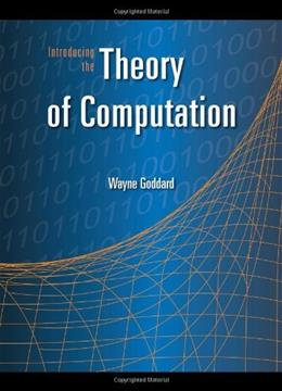 Introducing the Theory of Computation, by Goddard 9780763741259