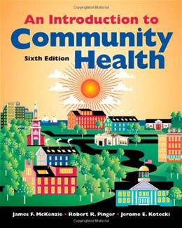 An Introduction to Community Health 6 9780763746346