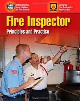 Fire Inspector: Principles And Practice, by IAFC 9780763749392