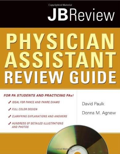Physician Assistant Review Guide, by Paulk BK w/CD 9780763752668