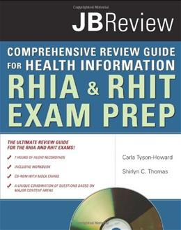 Comprehensive Review Guide for Health Information, by Tyson-Howard PKG 9780763756611